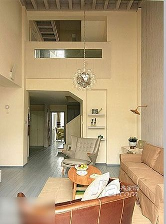 清凉绿色森林小屋 舒适的90平带阁楼