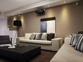 简约时尚现代家 明媚清新一居室
