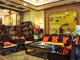 復古中國風 中式奢華躍層