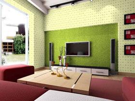 經典電視背景墻設計 打造客廳新亮點