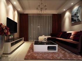 70平改造 打造簡約時尚三居室