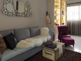 单身贵族简约风格之家 木质自然一居室清新居装修