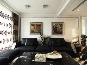 低调奢华小跃层 大气稳重四居室