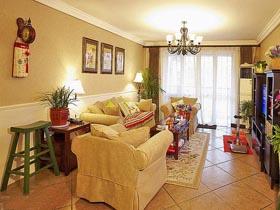 现代美式宅 95平二室二厅