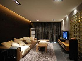 光影打造魅力二居室 82平现代简约风格之家