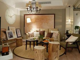 木作古朴家 混搭一居室