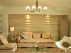 暖黄清新装 117平三室二厅