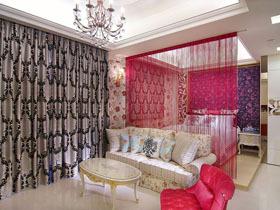 梦幻单身公寓 唯美背景墙设计