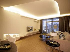线条流畅现代家 简约二居室