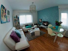 精致生活 51平二居室简约风格小户型装修