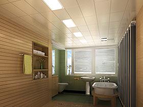 简约浴室必威官网效果图