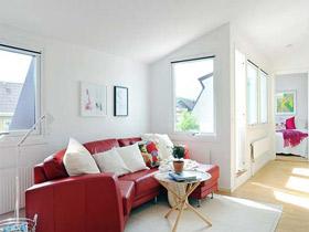 小户型单身公寓 简约带点小清新