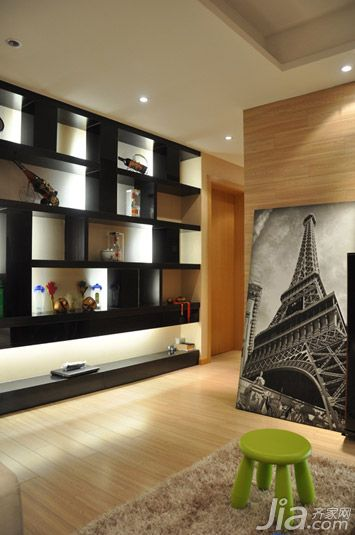 巴黎铁塔装修风格