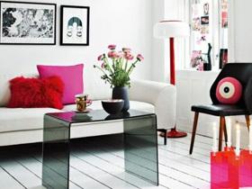 女性气质 88平粉色小公寓