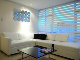 白色简约 菲律宾69平小公寓