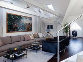 引領現代 180平斯德哥爾摩復式公寓