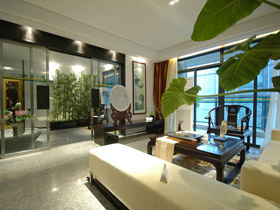 現代與古典完美融合 濃厚中國風三居室