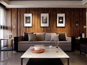 走進原生態 實木二居室室內設計