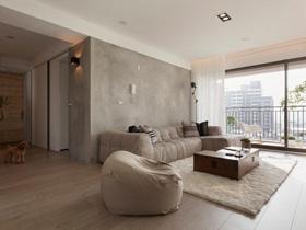 停下來享受生活 白色簡約一居室