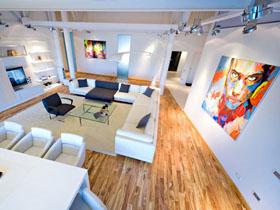 时尚高雅 摩尔多瓦LOFT风三居室设计