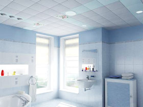 享简约卫浴空间 13款奇力集成吊顶效果图