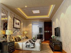 鸿牌集成吊顶之温馨卧室 最迷人的舒适空间