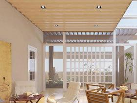 完美每个细节 鸿牌集成吊顶绝美走廊阳台吊顶方案