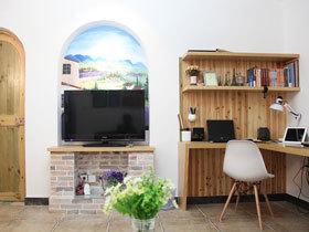 田园地中海小居 50平两室两厅小清新
