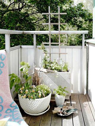15款舒适亲近自然     阳台装修效果图
