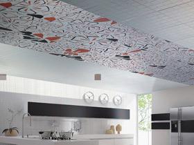 個性的烹飪世界 賞容聲集成吊頂廚房效果圖