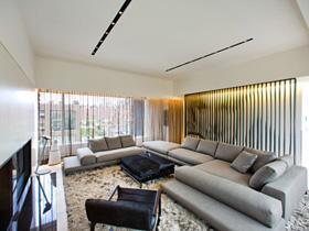 霸氣十足 紐約現代頂層公寓設計