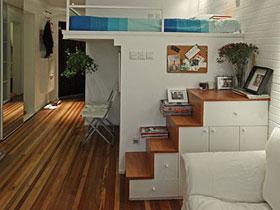 老公房變身小清新 50平北歐loft