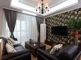 現代美式 88平簡約一居室裝修