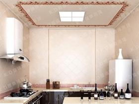 9款简约典雅厨房 凯尔蒂尼集成吊顶效果图