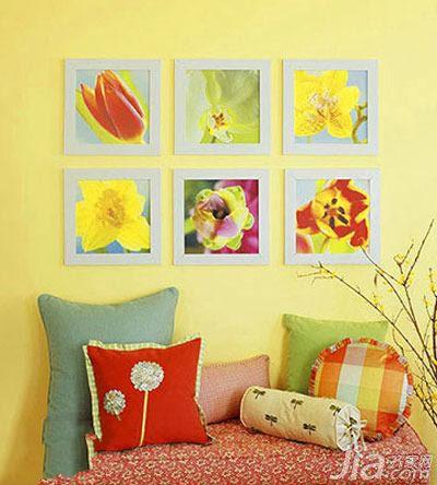 【创意diy】物品巧利用 10个手工diy背景墙