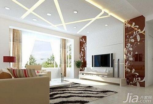 家装客厅圆顶效果图; 客厅吊顶装修图装修效果图客厅吊顶 不做吊顶