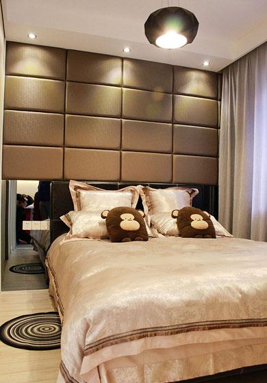 床床头软包卧室效果图大全2014 高清图片