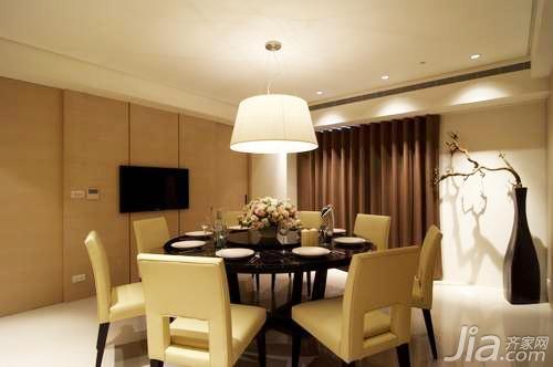 山花烂漫时 美式装修风格样板房 家的味道 温醇浓厚的简约欧式装修图片