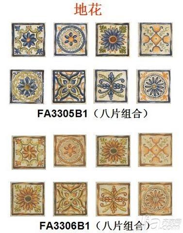 马可波罗1295e系列仿古砖 体验法式极致休闲