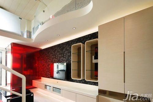 客厅:鞋柜与展示柜的收纳空间图片