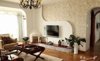 2014年最流行 50款电视背景墙效果图
