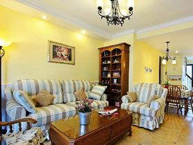 阁楼卧室也温馨 90平美式地中海