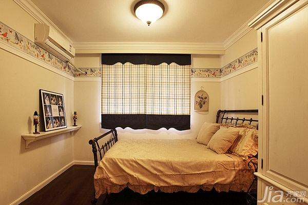 88平美式两居再放大; 卧室石膏线效果图 _网络排行榜; 多层次家装扩容图片