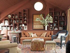 温暖色彩舒适家 纳维亚美学别墅设计