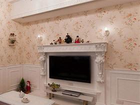 12款浪漫吊灯     电视背景墙装修效果图