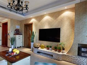 11款简约风格     电视背景墙装修效果图