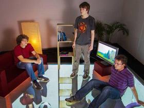德国科学家研发出高分辨率智能压感地板