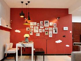 餐厅背景墙装修效果图87