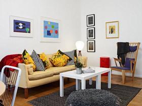 10款靓丽小户型 客厅装修效果图