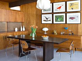 餐厅背景墙装修效果图50